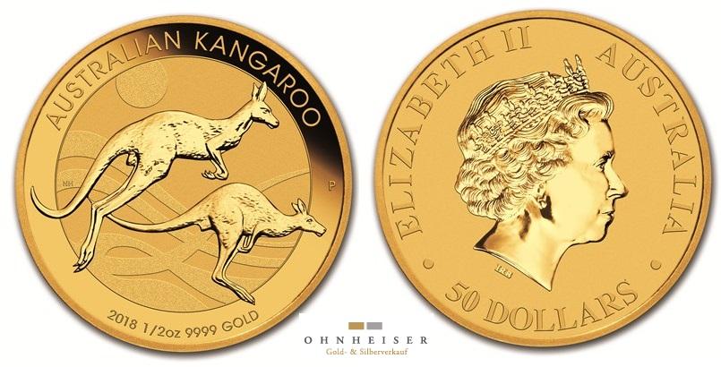 1 2 oz kangaroo gold 2018 silber gold verkauf. Black Bedroom Furniture Sets. Home Design Ideas